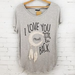 "{New} ""I Love You to the Moon & Back"" Tee T Shirt"